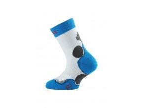 Lasting HCJ 005 bílá junior  ponožky