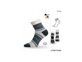 Lasting HMC 085 modrá silná ponožka
