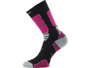 Lasting ILR 904 černá Středně dlouhá inlinová ponožka  ponožky