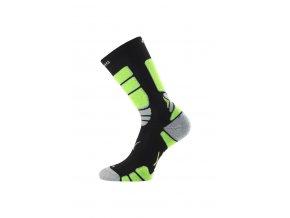 Lasting ILR 906 černá Středně dlouhá inlinová ponožka  ponožky