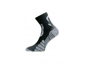 Lasting IRM 901 černá běžecké ponožky