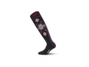Lasting SWN 903 černá lyžařské ponožky  ponožky