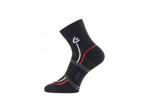 Lasting TRZ 900 ponožky pro aktivní sport černá