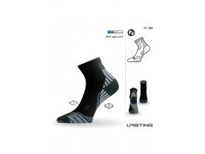 Lasting ITL 908 černá terkingová ponožka