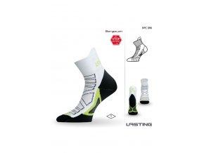 Lasting RPC 096 bílá běžecké ponožky  ponožky