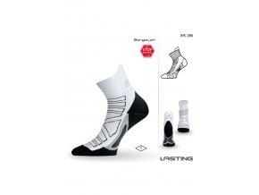 Lasting RPC 098 bílá běžecké ponožky
