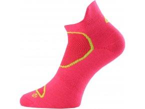 Lasting RSP 402 růžová běžecké ponožky