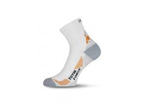Lasting RTF 001 bílé běžecké ponožky