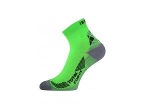 Lasting RTF 601 zelené běžecké ponožky
