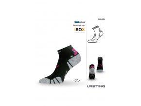 Lasting RUN 904 černá běžecké ponožky