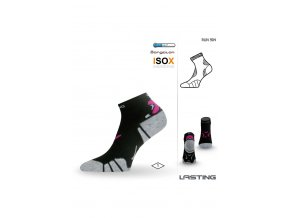 Lasting RUN 904 černá běžecké ponožky  ponožky