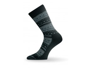 Lasting TWP 686 zelená zimní ponožka