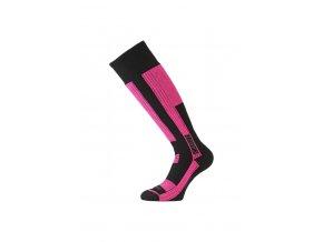 Lasting SKG 904 černá Lyžařská ponožka
