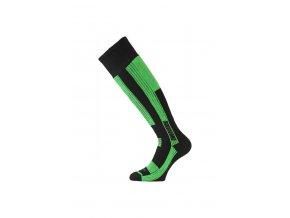 Lasting SKG 906 černá Lyžařská ponožka