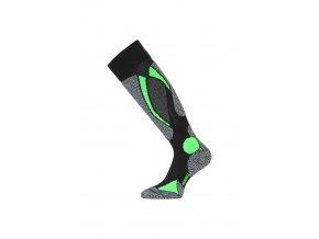Lasting SWC 906 černá merino ponožky lyžařské