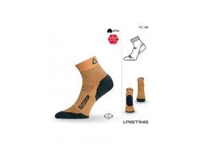 Lasting TCC 298 žlutá funkční ponožky  ponožky