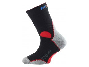 Lasting TJD 903 černá merino ponožka junior slabší