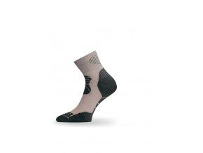 Lasting TKI 707 béžová trekingová ponožka