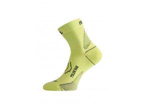 Lasting TNW 668 zelená merino ponožka  ponožky