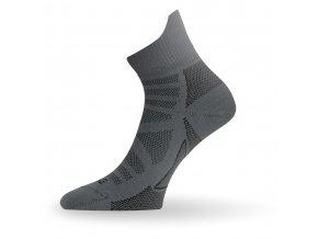Lasting TPC 816  tmavě šedá trekingová ponožka