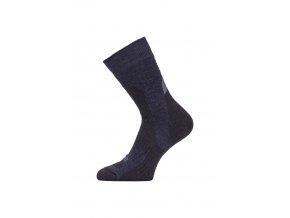Lasting TRP 598 modrá středně silná trekingová ponožka  ponožky