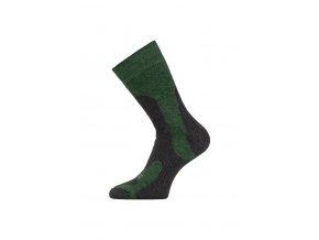 Lasting TRP 698 zelená středně silná trekingová ponožka  ponožky