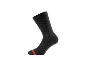 Lasting TSR 900 černá bambusové ponožky  ponožky
