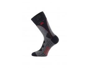 Lasting TWA 809 šedá merino ponožky