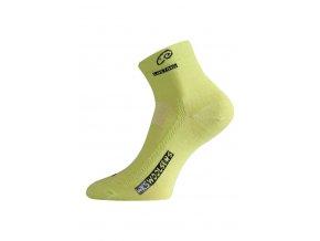 Lasting WKS 669 zelená vlněné ponožky