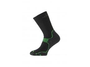 Lasting WSB 906 černá merino ponožky