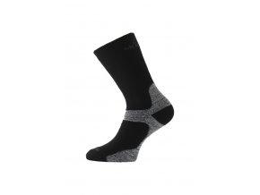 Lasting WSB 908 černá merino ponožky