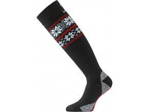 Lasting WSN 903 černá merino ponožky lyžařské