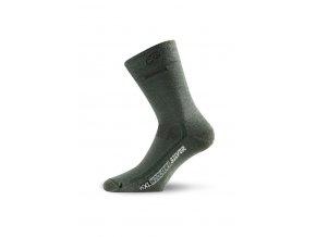 Lasting WXL 620 zelená merino ponožky
