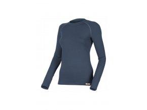 Lasting LENA 5656 modrá vlněné Merino triko