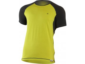 Lasting OTO 6980 žlutá pánské vlněné Merino triko