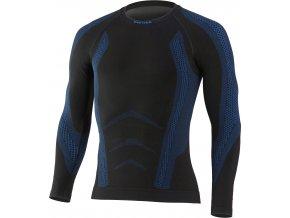 Lasting ARAN 9055 černá termo bezešvé triko