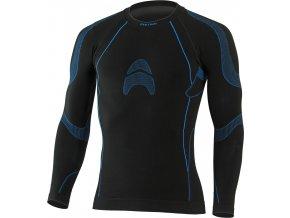 Lasting ALTIN 9055 černá termo bezešvé triko