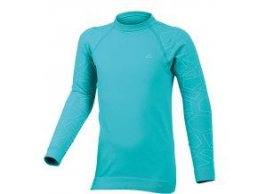 Lasting DIAZ 5401 modrá Termo bezešvé triko