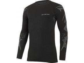 Lasting ALVIN 9001 černá bezešvé triko