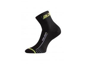 Lasting BS30 906 černá cyklo ponožky