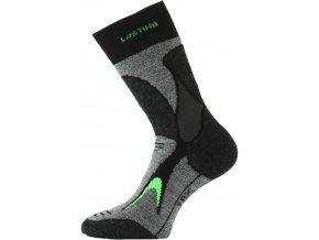 Lasting TRX 906 černá merino ponožky  ponožky