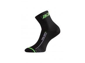 Lasting BS30 966 černá cyklo ponožky