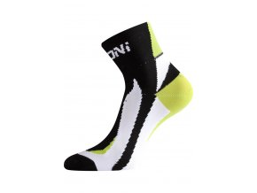 Lasting BS40 963 černá cyklo ponožky