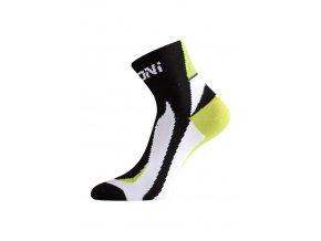 Lasting BS40 963 černá cyklo ponožky  ponožky