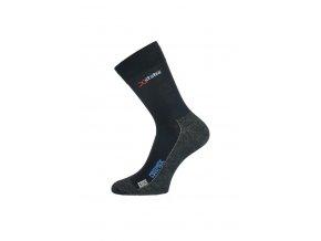 Lasting XOL 900 černá turistická ponožka