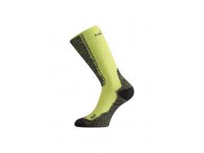 Lasting WSM 689 zelené vlněné ponožky