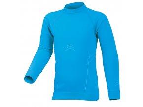 Lasting KIRI 5001 modré Termo bezešvé triko