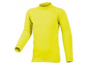 Lasting KIRI 1001 žluté Termo bezešvé triko