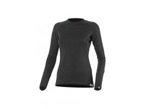 Lasting DITA 9090 černé vlněné merino triko
