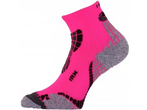 Lasting IRM 450 růžová běžecké ponožky